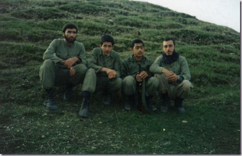 شهیدان محسن بابائی وبرادران نعمتی
